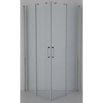 Porte de cabine 90x90 cm, Remix