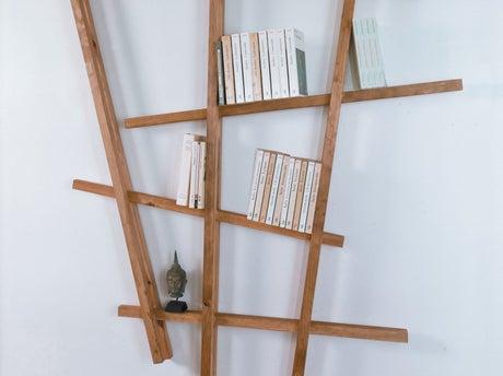 Fabriquer une tag re partir de tasseaux - Realiser une etagere ...
