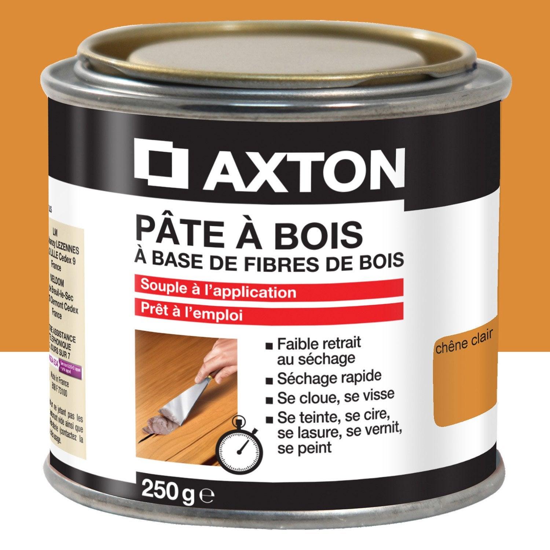 P te bois axton ch ne clair 250 leroy merlin - Pate a bois comment l utiliser ...