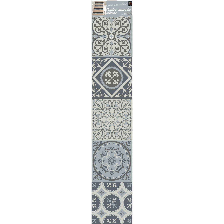 sticker contremarche coimbra 19 5 cm x 100 cm leroy merlin. Black Bedroom Furniture Sets. Home Design Ideas