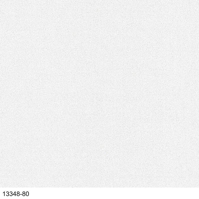 Papier peint vinyle Uni carat paillette blanc | Leroy Merlin