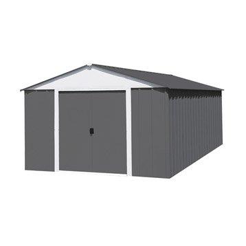 Abri de jardin en métal NATERIAL Lm 1014/hg, 12 m², ép. 0.08 mm