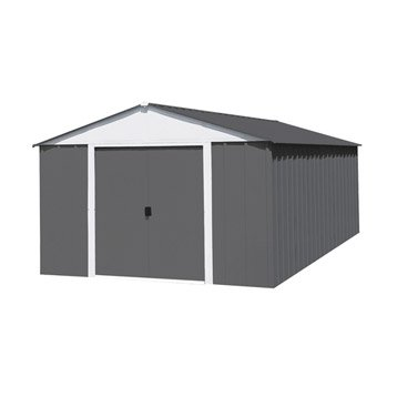Abri de jardin en métal NATERIAL Lm 1014/hg, 12 m², ép. 8 mm