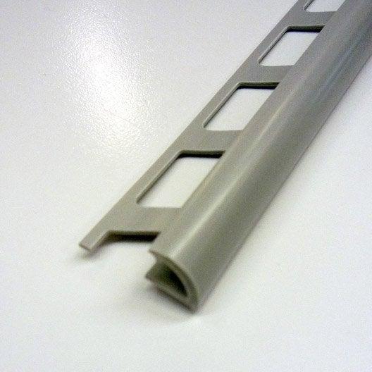 Quart de rond carrelage mur pvc l 2 5 m x mm for Carrelage epaisseur 3 mm