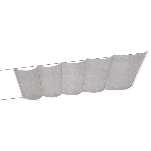 store velum pour v randa taupe 100x350 cm leroy merlin. Black Bedroom Furniture Sets. Home Design Ideas