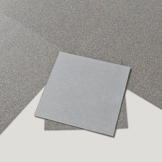 dalle pvc adh sive gris gremille bali leroy merlin. Black Bedroom Furniture Sets. Home Design Ideas