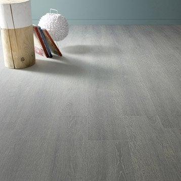Sol stratifié ARTENS Basics ép. 7 mm, chêne grisé
