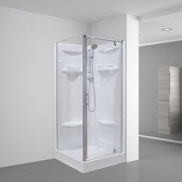 Cabine de douche Dana simple carré 90x90 cm