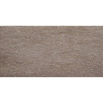 Carrelage sol pierre effet béton Source l.30 x L.60 cm