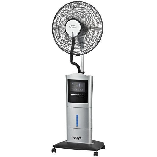 ventilateur brumisateur sur pied domair sw40 d 40 cm 100 w leroy merlin. Black Bedroom Furniture Sets. Home Design Ideas
