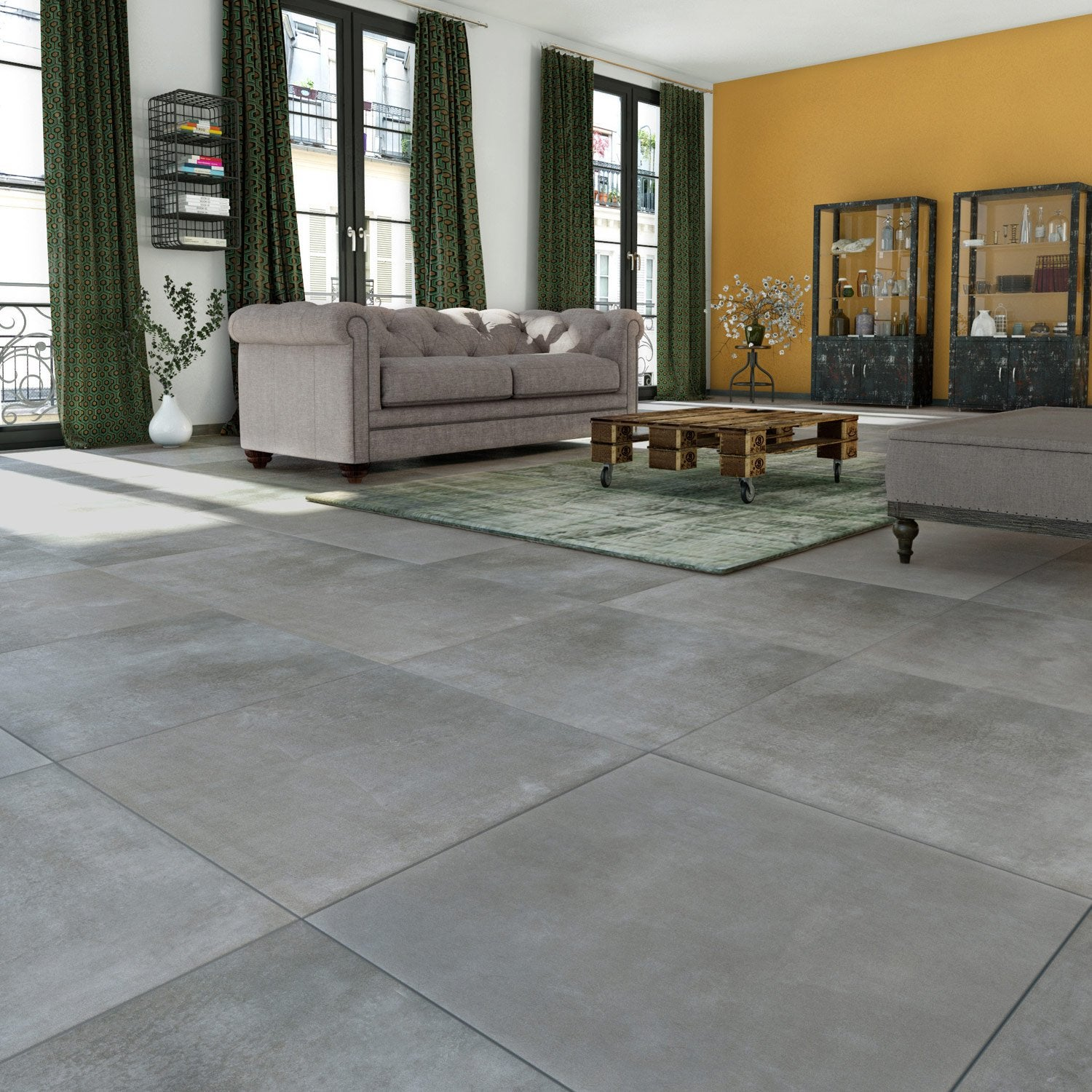 Carrelage Gris. Awesome Grey Carrelage Gris Fonc With Carrelage Gris ...
