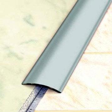 Barre de seuil inox gris L.83 x l.3 cm
