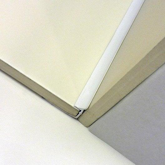 joint d 39 angle rentrant carrelage mur pvc l 2 5 m x ep 6. Black Bedroom Furniture Sets. Home Design Ideas