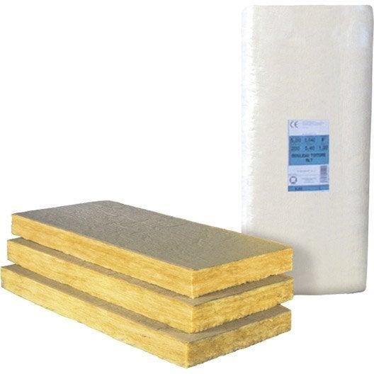Panneau en laine de verre pnm kraft r 1 2 leroy merlin - Coefficient laine de verre ...