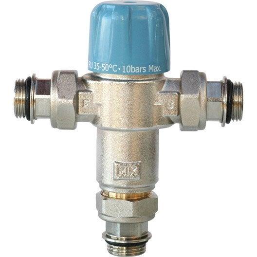Mitigeur thermostatique anti br lure pour chauffe eau mf 20 27 equation leroy merlin for Prix d un ballon d eau chaude