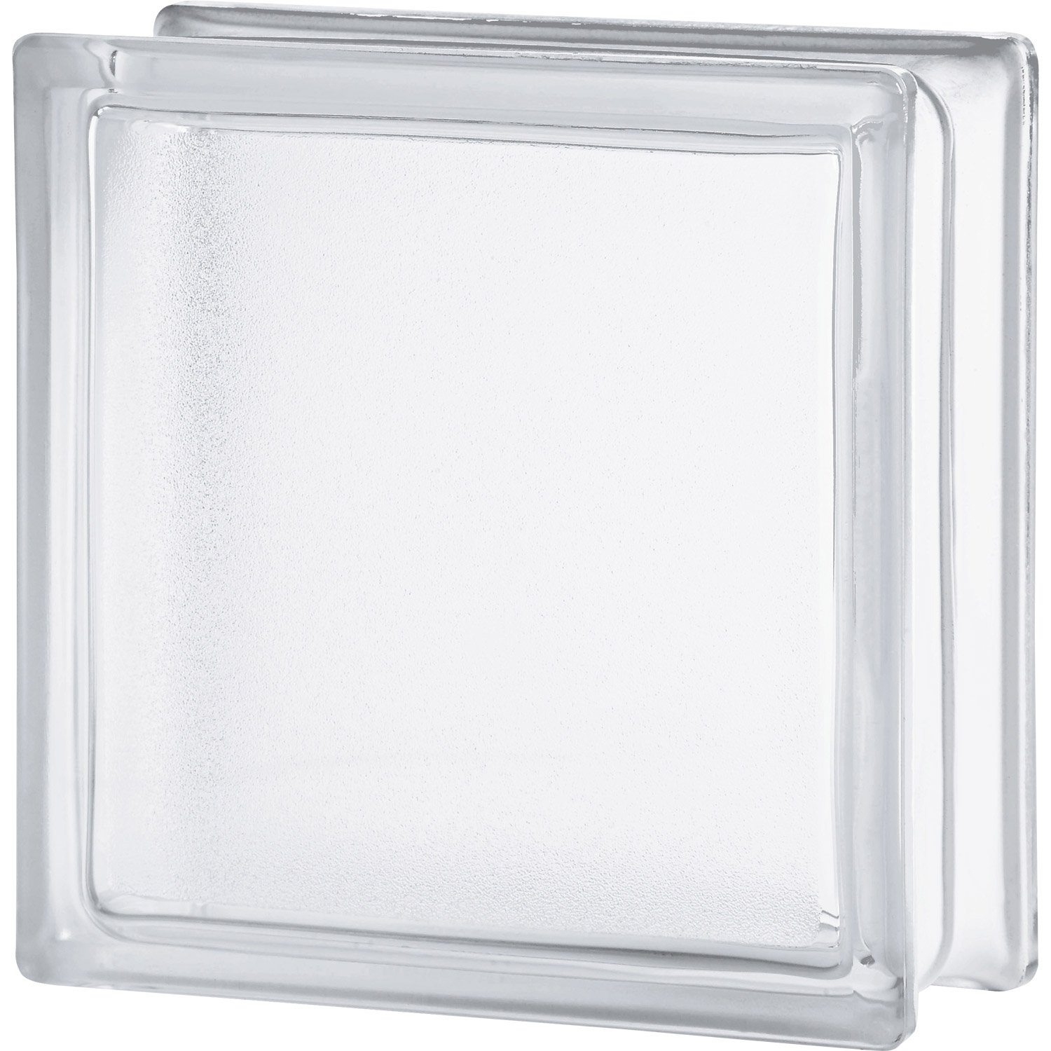 brique de verre transparent lisse double face leroy merlin