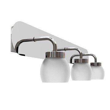 Rampe 3 spots Elia, LED 3 x 3.8 W, LED intégrée blanc chaud