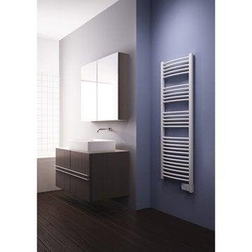 Sèche-serviettes électrique à inertie fluide Galbé 1000 W