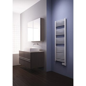 Sèche-serviettes électrique à inertie fluide Galbé 750 W