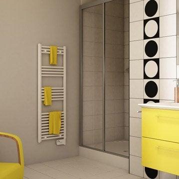 Sèche-serviettes électrique à inertie fluide Etroit 500 W