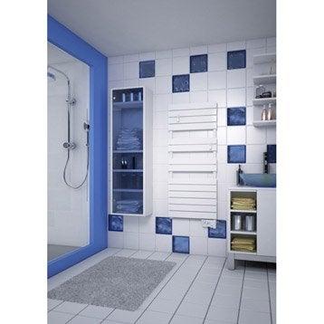Sèche-serviettes électrique à inertie fluide SAUTER Santiago classique 750 W