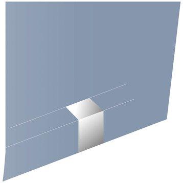 Jonction blanc pour goulotte, H. 6.1 x P.1.1 cm