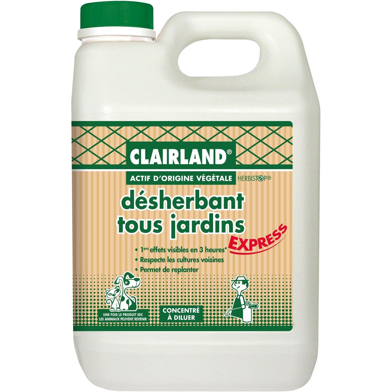 Desherbant Polyvalent Clairland 2 5 L Leroy Merlin