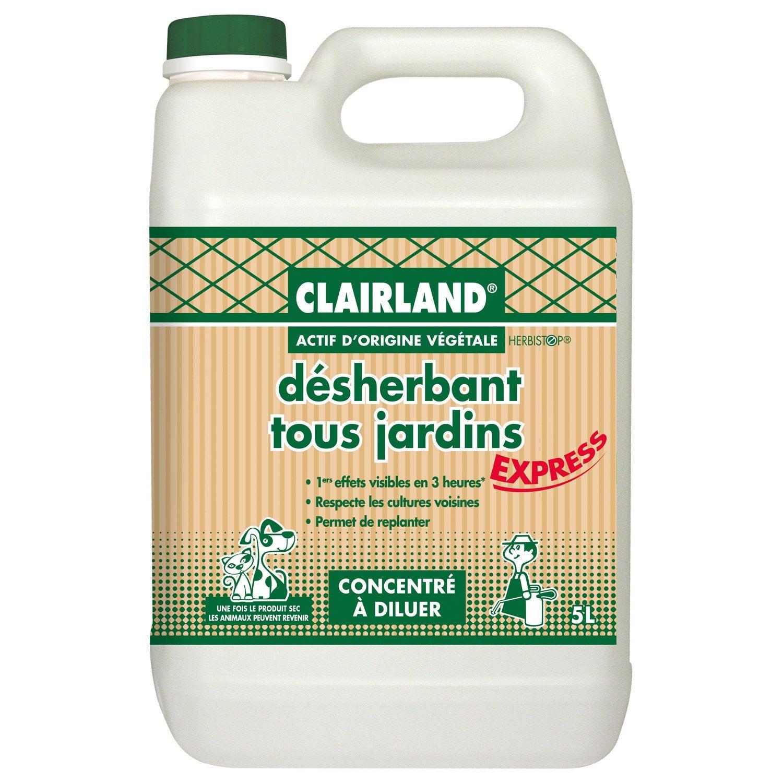 Désherbant Polyvalent Clairland 5 L