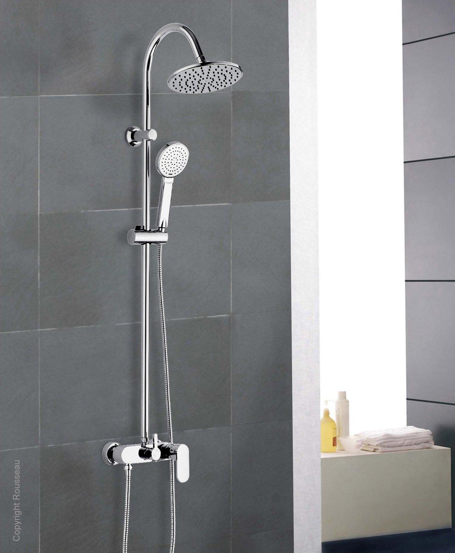 Une colonne de douche moderne et raffin e leroy merlin - Leroy merlin colonne de douche ...