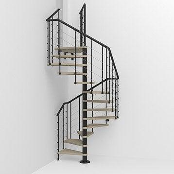 Escalier escalier bois escalier colima on leroy merlin - Escalier colimacon aluminium ...