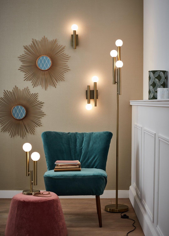 lampadaires design et lampes tr pied leroy merlin. Black Bedroom Furniture Sets. Home Design Ideas
