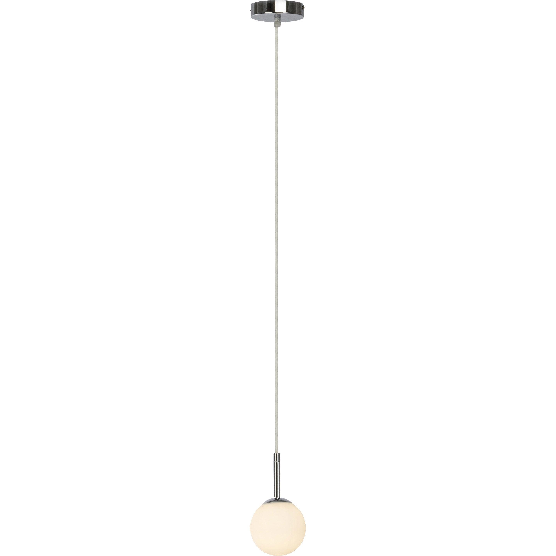 Suspension, moderne verre blanc BRILLIANT Gitse 1 lumière(s)