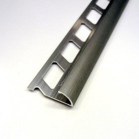 quart de rond carrelage mur aluminium anodis l 2 5 m x mm leroy merlin. Black Bedroom Furniture Sets. Home Design Ideas