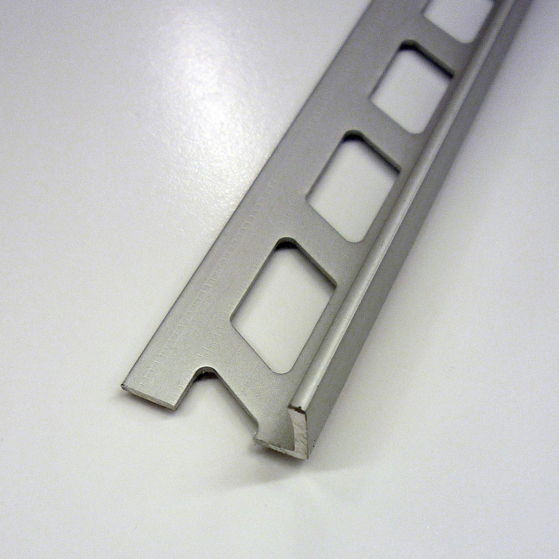 Equerre De Finition Carrelage Mur Aluminium Anodisé L M X Ep - Carrelage épaisseur 6 mm