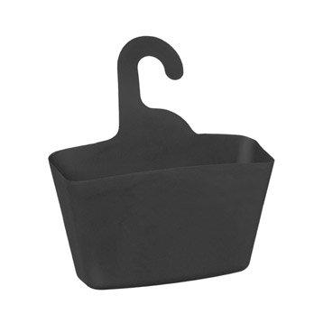 Panier de bain / douche Play à suspendre au combiné, gris gris n°1