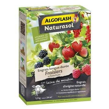Engrais naturel fraisiers ALGOFLASH 1.2 kg