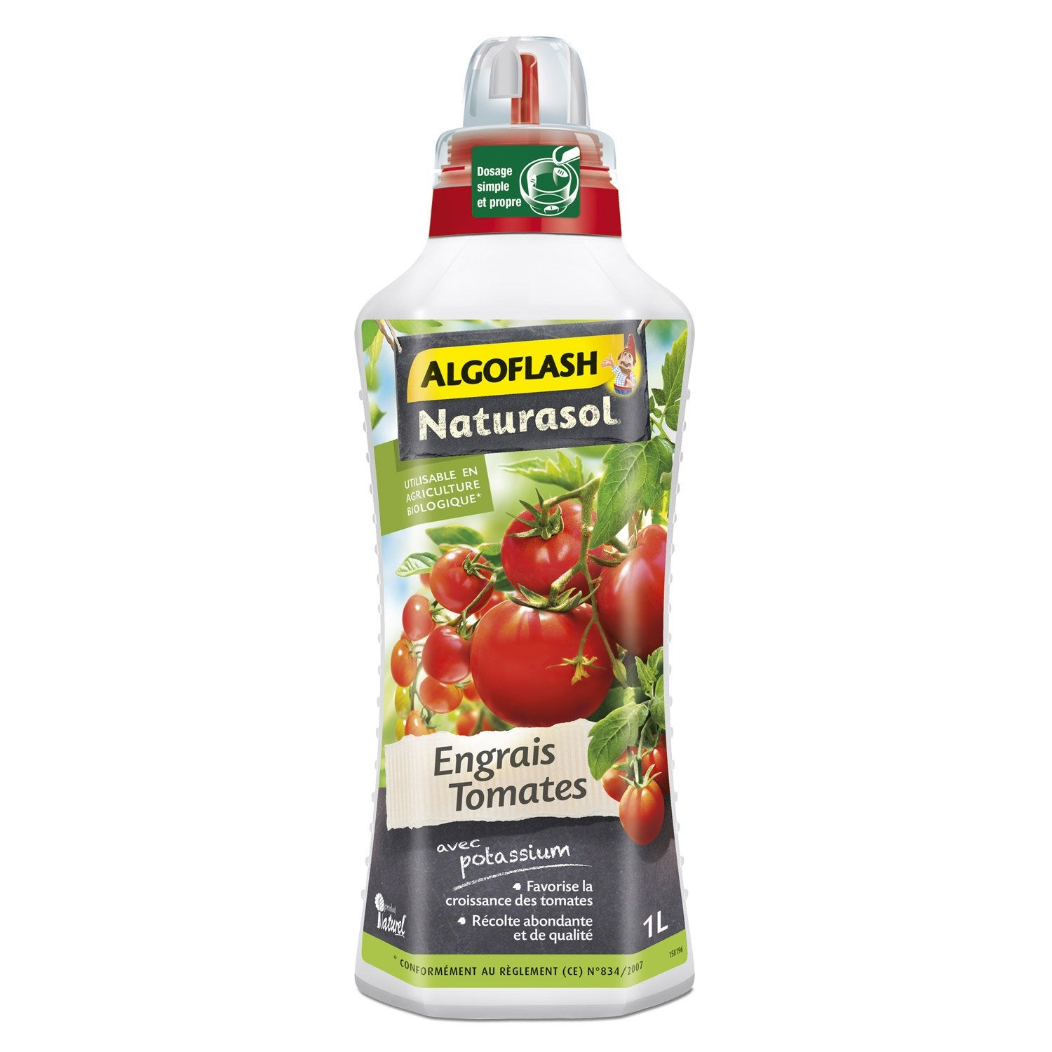 engrais naturel tomates algoflash 1000ml leroy merlin. Black Bedroom Furniture Sets. Home Design Ideas
