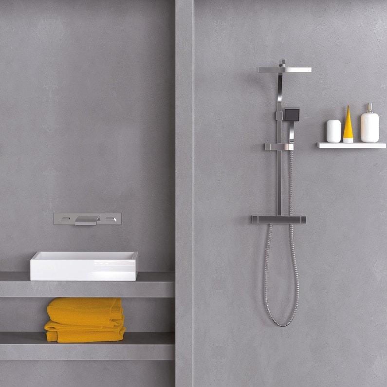 Relooker la salle de bains avec un enduit de masquage for Enduit salle de bain leroy merlin