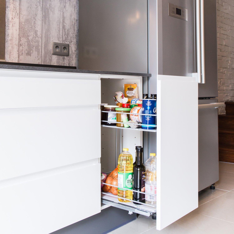 un tiroir epices tr s pratique dans la cuisine de guillaume thenezay leroy merlin. Black Bedroom Furniture Sets. Home Design Ideas
