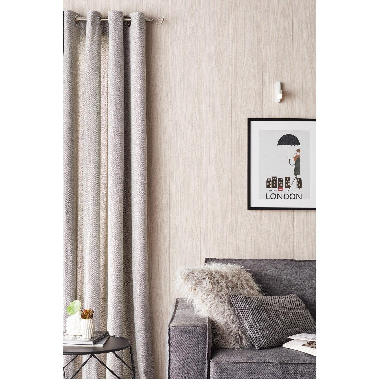 lot de 2 embouts filaire inspire nickel mat pour tringle rideau mm leroy merlin. Black Bedroom Furniture Sets. Home Design Ideas
