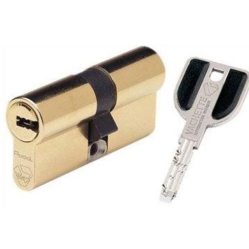 Cylindre de serrure 32.5+32.5 mm, 13 goupilles, VACHETTE modèle Radial nt +