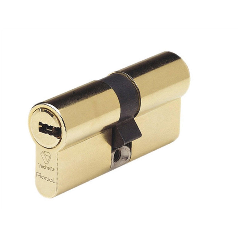 Cylindre De Serrure L Mm VACHETTE Radial Nt Leroy Merlin - Cylindre porte