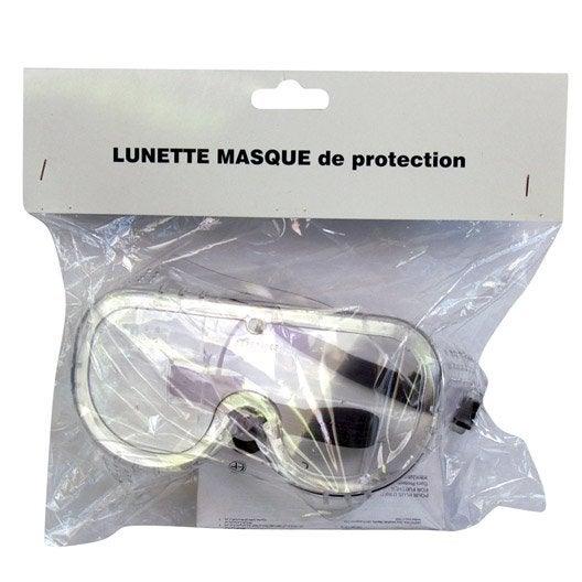 lunettes masque de protection hobygam lm60580 verre incolore leroy merlin. Black Bedroom Furniture Sets. Home Design Ideas