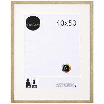 Cadre Lario, 40 x 50 cm, chêne clair