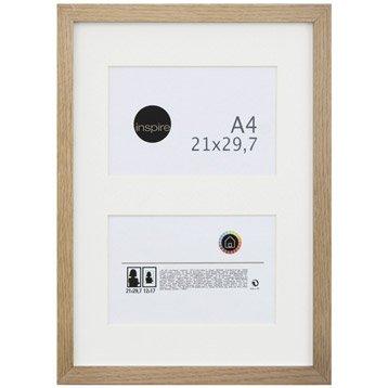 Cadre Lario, 21 x 29.7 cm, chêne clair