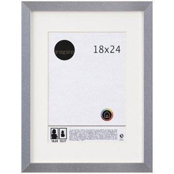 Cadre Lario, 18 x 24 cm, argent