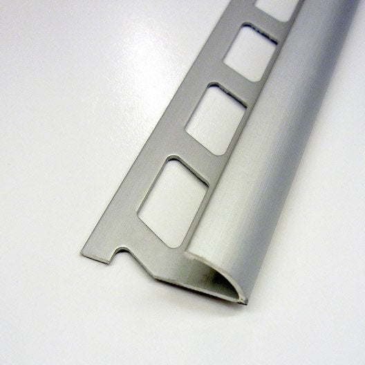profil de finition carrelage de sol nez de marche quart de rond au meilleur prix leroy merlin. Black Bedroom Furniture Sets. Home Design Ideas