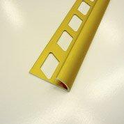 Quart-de-rond carrelage sol, aluminium anodisé L.2.5 m x Ep.10 mm