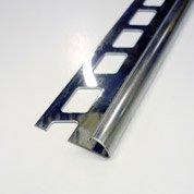 Quart-de-rond carrelage sol, inox L.2.5 m x Ep.10 mm