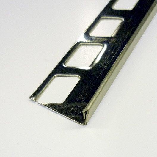 profil de finition carrelage de sol nez de marche quart. Black Bedroom Furniture Sets. Home Design Ideas